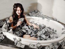 Banhos ciganos para atrair dinheiro
